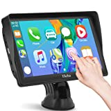 Digital Media-Receiver, Auto Navigation mit Rückfahrkamera, Autoradio Bluetooth für Apple CarPlay & Android Auto, Auto Navigationsgerät 7 Zoll mit Touchscreen, Mirror Link, für Die Meisten Fahrzeuge