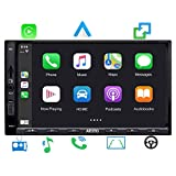 ATOTO Digitales Doppel-Din-Media-Autoradio - SA102 Starter (YS102SL) CarPlay- und Android Auto-Empfänger, Bluetooth, Radio, USB-Video und -Audio