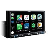 Alpine Electronics iLX-702D Digital Media Receiver 2DIN mit DAB, Schwarz