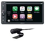 Sony XAV-AX205DB 16, 3 cm, 6, 4 Zoll, Premium DAB plus DVD Media Receiver, Bluetooth, Apple CarPlay/ Android Auto, Navigation