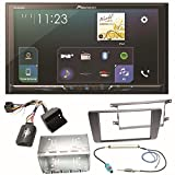 Pioneer SPH-DA230DAB Bluetooth Digitalradio Carplay Android Auto USB MP3 Autoradio Einbauset für Skoda Octavia 2 Yeti 5L
