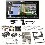 Pioneer AVIC-Z820DAB Bluetooth Carplay Android Auto Navigation Autoradio Touchscreen Naviceiver Freisprecheinrichtung Digitalradio USB FLAC Einbauset für Audi TT 8J