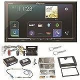 Pioneer SPH-DA230DAB Bluetooth Digitalradio Carplay Android Auto USB MP3 Autoradio Einbauset für Audi TT 8J