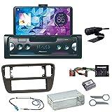Pioneer SPH-10BT Bluetooth Autoradio USB AUX MP3 FLAC AAC WAV Einbauset für Up Seat MII Skoda Citigo