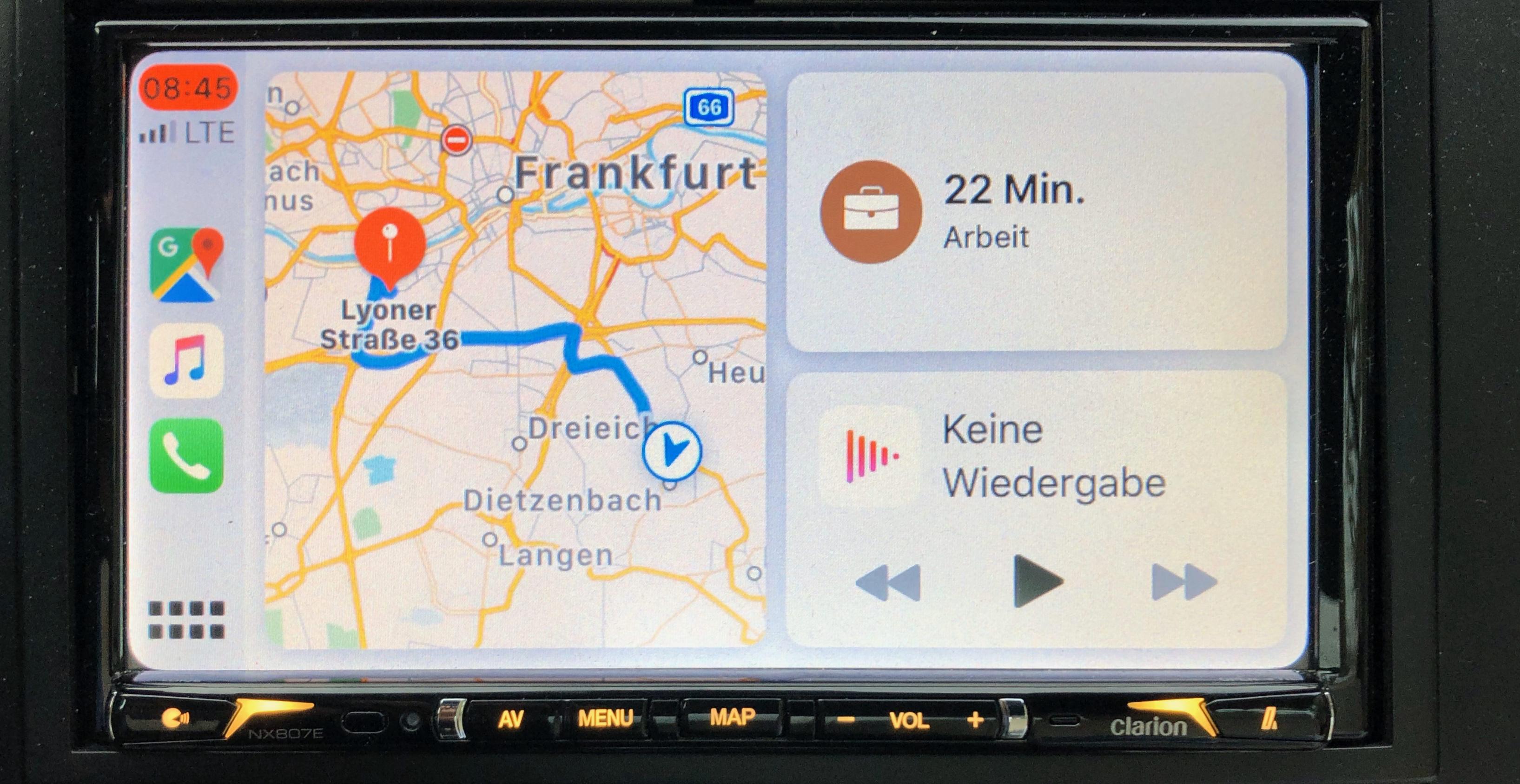Wie hat das Dashboard das Verhalten der Nutzer von CarPlay verändert?